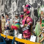 The evolution of the Mummers costumes!