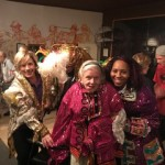 Everyone loved trying on the costumes - what a neat thing to do!