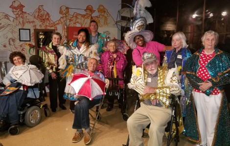 Memorable Time with the Mummers