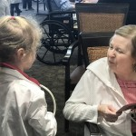 Our residents loved chatting with the students.