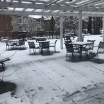 We are looking forward to the spring and summer weather where we can use our outside patio even more.