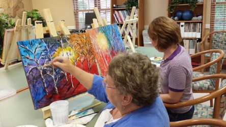 Memory Care activities at Rockland Place