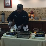 Chef Bobby in action!