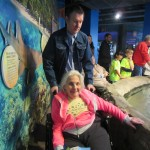 We all enjoyed the sites and sounds that the Adventure Aquarium had to offer!