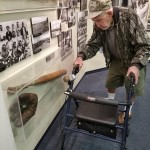 The museum displayed several pieces of historic memorabilia - we all enjoyed checking those out!