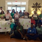 Associates and residents gather to show support!