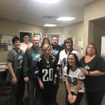 Our leadership team is ready for the big game! Go Eagles!