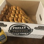 Of course we had to get Philly pretzels for everyone to enjoy.