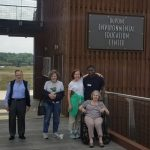 The entire group enjoyed their visit to the DuPont Environmental Education Center.