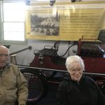 The historic cars certainly had a history to them and we were all happy to explore the museum.