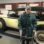 Bill absolutely loved the collection of cars.
